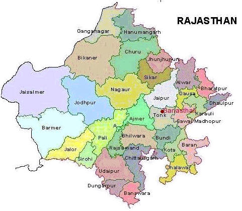 Rajasthan map location welcome to banasthali vidyapith rajasthan map altavistaventures Gallery