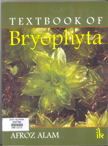 Book - Textbook of Bryophyta