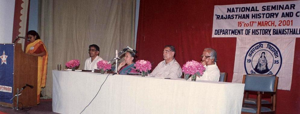 National Seminar on Rajasthan History and Culture